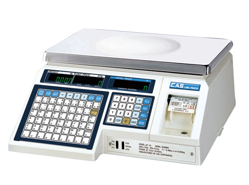 CAS LP-1000N Label Printing Scale