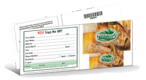 grocery store loyalty program, custom loyalty cards